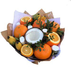 Букет из фруктов (ингредиенты на выбор)